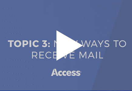 Information Management in a 'Work from Anywhere' World: New Ways to Receive Mail